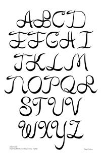 Adam's Ale Typeface